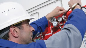 Maintenance of Central Gas Supply, LIPROTECT Services, safety information